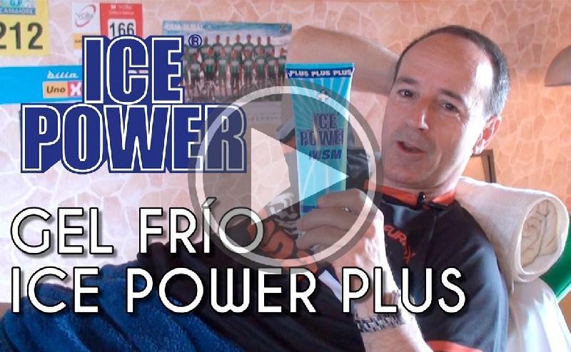 Recupera más rápido gracias al gel frío Ice Power