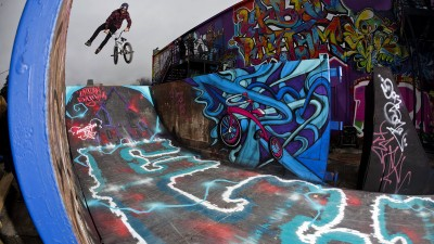Red Bull Urban Rhythm: BMX y arte en Houston