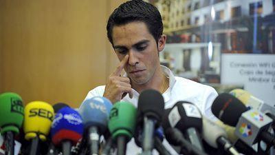 La rueda de prensa de Alberto Contador en directo