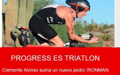 Ruedas Progress con los campeones del triatlon