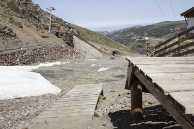 Sierra Nevada prepara la apertura del bike park con 30 kilómetros