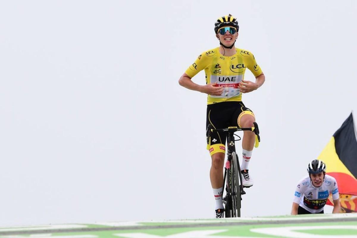 Tadej Pogacar deja el Tour de Francia sentenciado tras una exhibición en Col de Portet