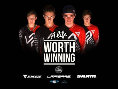 Team Lapierre Gravity Republic - A life worth winning