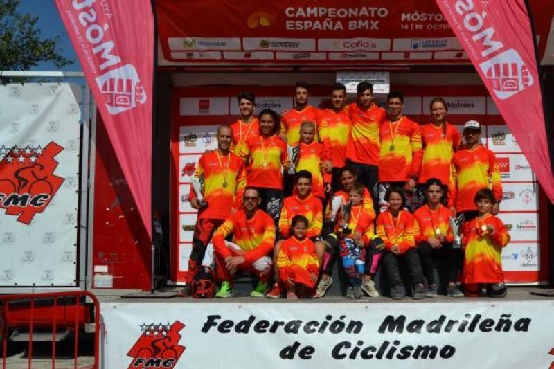 Terminaron los Campeonatos de España de BMX