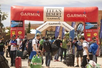 Todo listo para el inicio de la Titan Desert 2015