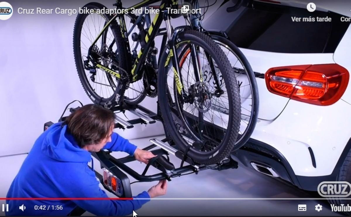 Todo para el transporte de tu bicicleta en el canal de youtube Cruz