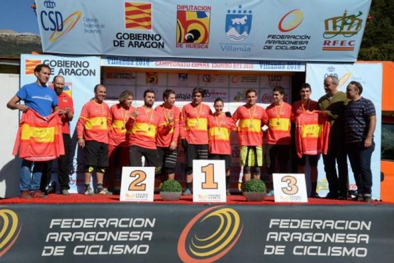 Toni Ferreiro revalida título de campeón de España de Enduro