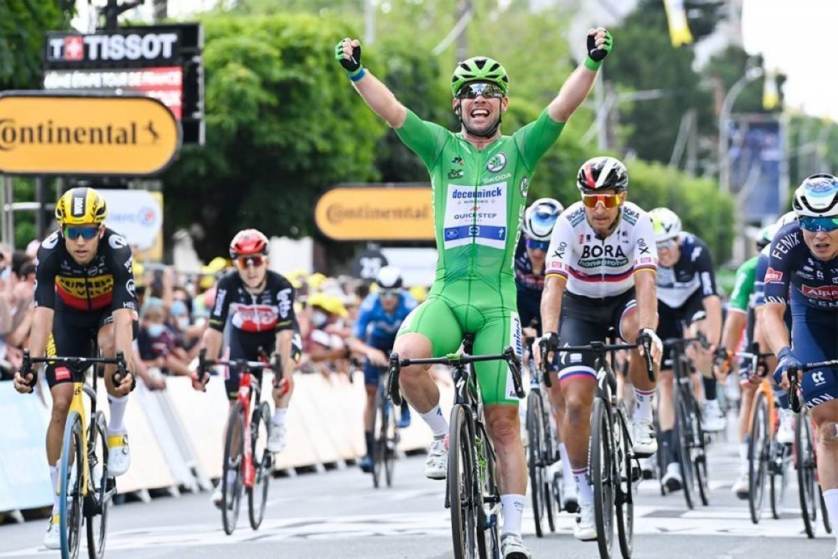 Tour de Francia: Cavendish caza otra etapa al sprint