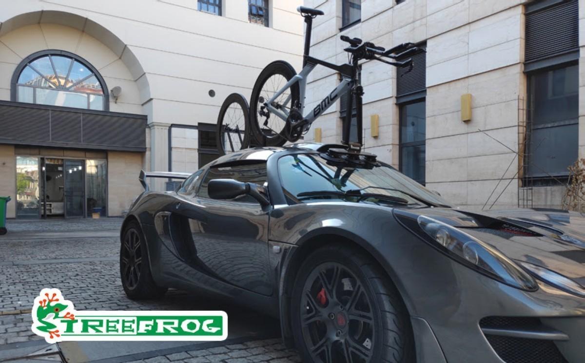 TreeFrog: Otra opción para llevar tu bicicleta en el coche
