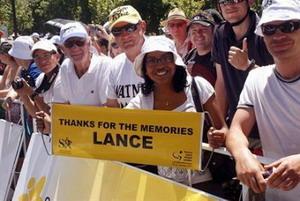 Lance Armstrong dice adios por segunda vez