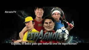 Vuelve el guiñol francés - Deportistas españoles versus Los Vengadores