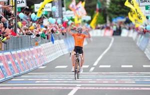 El Euskaltel regresa satisfecho del Giro de Italia 2012