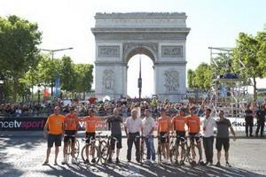 Euskaltel  Euskadi termina con buena nota el Tour de Francia