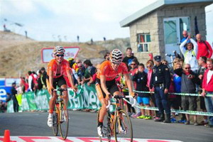 Vuelta a España: Euskaltel Euskadi reposa en Comillas