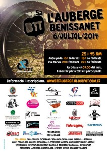 5 ª Marcha BTT la albergue de Benissanet