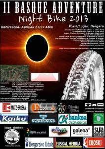 La II Basque Adventura Night Bike 2013 este sabado