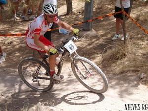 Jose Antonio Díez Arriola en los Campeonatos de España de MTB