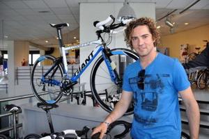 David Bisbal amante de la bicicleta