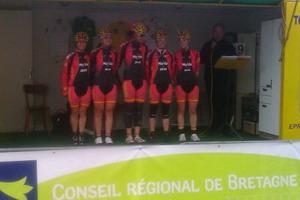 Lourdes Oyarbide termina duodécima en el Tour de Bretaña