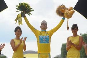 Alberto Contador redondea el mejor mes de la historia del deporte español
