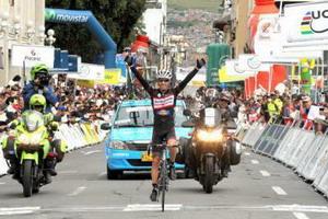 Sebastián Tamayo nuevo líder de la Vuelta a Colombia