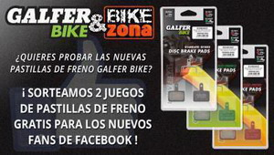 Consigue gratis 2 juegos de pastillas de freno Galfer Bike