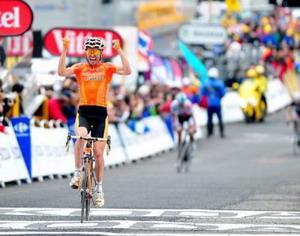 Tour de Francia: Victoria de Samuel Sánchez en Luz Ardiden