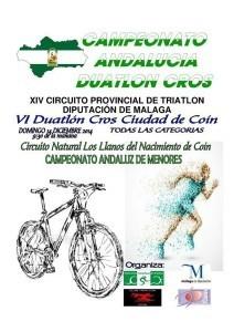 Abiertas las inscripciones del Cto. de Andalucía de Duatlón Cros