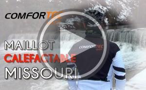 Adiós al frío con el maillot calefactable Missouri de COMFORTEC