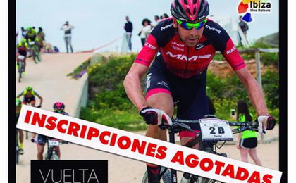 Agotadas en 40 minutos las inscripciones para la Vuelta a Ibiza BTT