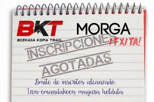 Agotadas inscripciones para la BKT de Morga
