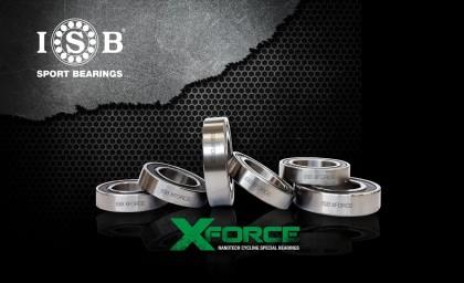 Ahorra tu energía con los rodamientos de alta gama ISB Sport XFORCE