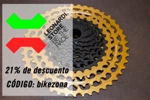 Ahórrate el 21% en Leonardi Store con el código bikezona