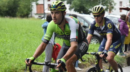 Aitor González, líder de la montaña en el Tour du Limousin
