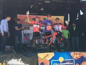 Aitor Hernández y Sandra Jordá ganan la Vuelta a Burgos BTT
