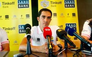 Alberto Contador cambiará su posición en la bicicleta