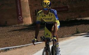 Alberto Contador espera confirmar hoy sus buenas sensaciones