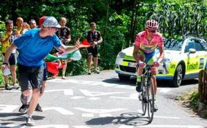 Alberto Contador golpea y decide el Giro de Italia