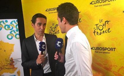 Alberto Contador nuevo comentarista de ciclismo en Eurosport