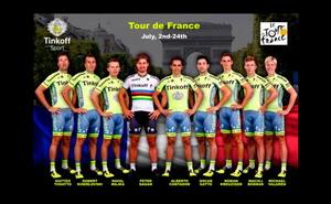 Alberto Contador y Peter Sagan lideran al Tinkoff en el Tour 2016