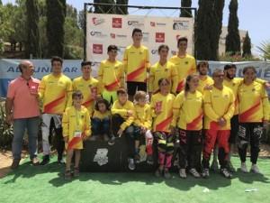 Alejandro Alcojor y Daniela Moreno, líderes de la Copa de España BMX