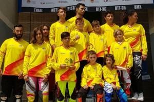 Alejandro Kim y Daniela Moreno se llevan la Copa de España BMX