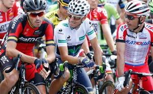 Alejandro Valverde pierde un puesto en la general de La Vuelta