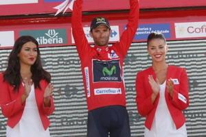 Alejandro Valverde recupera el maillot de líder de La Vuelta