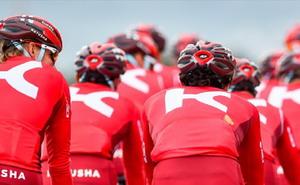 Alineación del Katusha para el Tour de Francia
