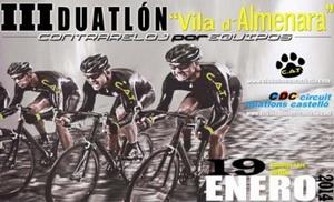 Almenara arranca la temporada 2014 con su III Duatlón