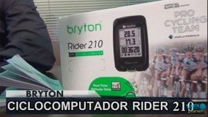 Análisis del ciclocomputador Bryton Rider 210