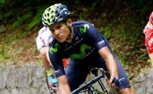 Andrey Amador orgulloso con lo conseguido en el Giro