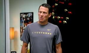 Lance Armstrong en un spot de RadioShack