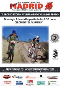 Arranca el XCO madrileño con Villa del Prado el 5 de Abril